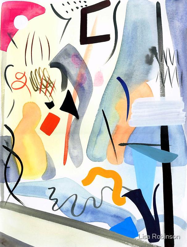 Pirouette by Lisa V Robinson