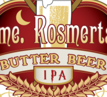 Madame Rosmerta's Butterbeer Sticker