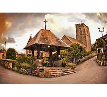 St Mary Church - Mortehoe - N Devon Photographic Print