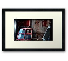 there was a poor child with no father and no mother Framed Print