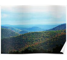 The Top Of The World Takes Many Forms ~ Berkshires, Massachusetts Poster