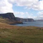Neist Point most Westerly point on the Isle of Skye by Terry Senior