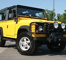 Land Rover Defender 90 - Bumble Bee on Steroids!!! by Daniel  Oyvetsky