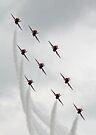 Red Arrows Diamond Nine by SWEEPER
