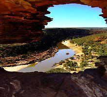 Nature's Window, Kalbarri, Western Australia by Julia Harwood