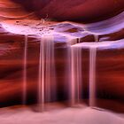 Sandfall (Antelope Slot Canyon, Page, Arizona) by Brendon Perkins