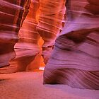Red Rock Slot (Antelope Canyon, Page, Arizona) by Brendon Perkins
