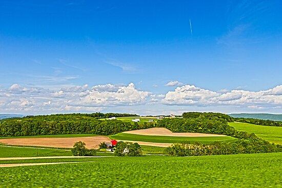 Beautiful vistas of Pennsylvania  by Yelena Rozov