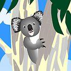 A Cute & Curious Koala by Dan & Emma Monceaux