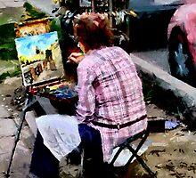 St. Petersburg Working Artist by Jon Ayres