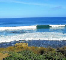 Pearses headland break by Keagan Pettigrew
