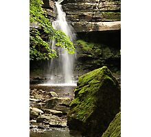Summerhill Force, Bowlees Beck, Upper Teesdale England, FT 6  Photographic Print
