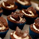Chocolate Butterfly Cupcakes by JeniNagy