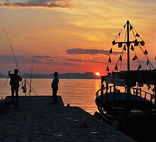mellow harbour moment by dinghysailor1