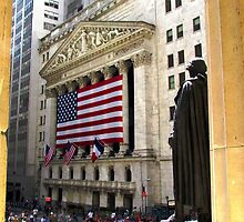 New York Stock Exchange by Alberto  DeJesus