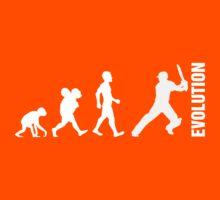 Evolution - Cricket (design 2) by aussietees