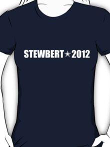 Stewbert 2012 White A T-Shirt