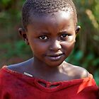 Girl in Rural Rwanda by Josh Marten