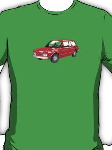 VW Brasilia Red T-Shirt