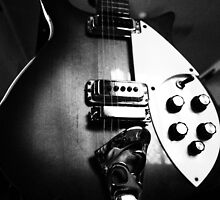 Guitar in mono by Matthew Larsen