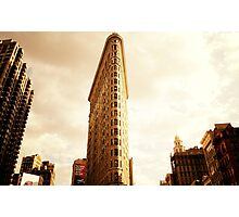 The Flatiron Building Photographic Print
