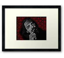 The Dude- The Big Lebowski Framed Print