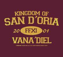 Final Fantasy XI: San D'Oria by Asrielle