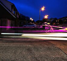 Purple Light Bending by AndrewBerry