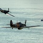 The BBMF Spitfire and Hurricane by Shane Ransom