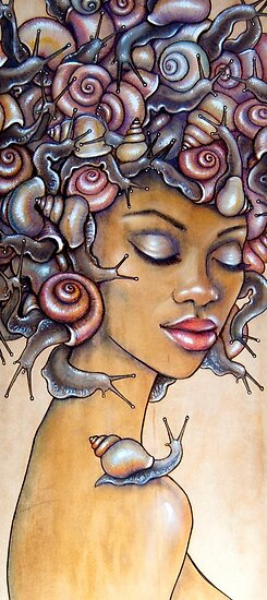 Snail fro by Fay Helfer