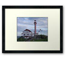 Cape Fourchu Lighthouse Framed Print