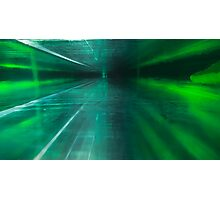 Green Stratified Flow Photographic Print