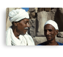 Karnak Guides from Nubia and Egypt Canvas Print