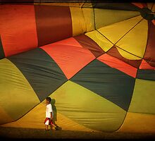 Balloon Boy by Michael  Herrfurth