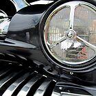 1951 Modified Merc Headlight Section by Debbie Robbins