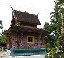 Library at Wat Xieng Thong by machka