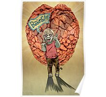 Bwains!!! Zombie Toddler. Poster