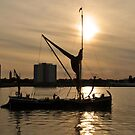 Homeward Bound - Portsmouth Harbour by Sharon Bishop