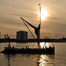 Homeward Bound - Portsmouth Harbour by Sharon Bishop