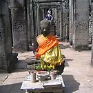 Offerings to Buddha. by machka