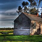 Leaning Barn of Rushy by Leigh Monk