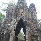 Khmer arch by machka