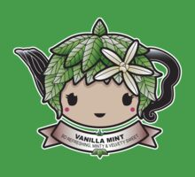 Vanilla Mint Teapot by Bubble Doll