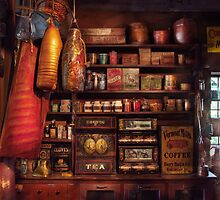 Americana - Store - The local grocers  by Mike  Savad