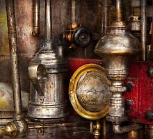 Steampunk - Needs oil by Mike  Savad