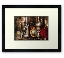 Steampunk - Needs oil Framed Print