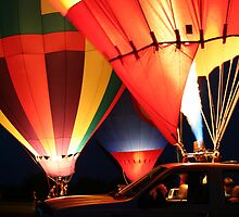 Balloon Glow by Christopher Herrfurth