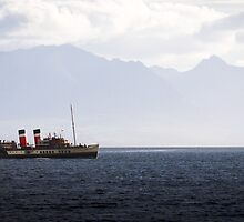 The PS Waverley by Chris West