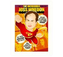 Joss Whedon Art Print