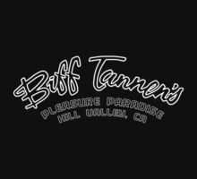 Biff Tannen's Pleasure Paradise - White (Back to the Future) by TGIGreeny